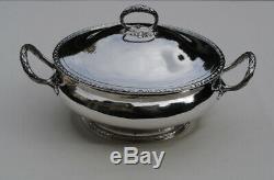 LEGUMIER EN ARGENT MASSIF LOUIS XVI Sterling Silver Vegetable Tureen 907 grams
