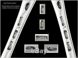 LONDRES XVIII°s. Rare Louche à Punch Argent Massif Sterling Silver Punch Ladle