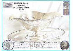 Lefebvre Sauciere En Argent Massif French Solid Sterling Silver Sauceboat