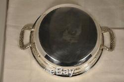 Legumier Ancien Argent Massif Antique Vegetable Dish Solid Silver 1,2kg