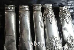 Lot argent massif minerve fonte à fondre 1470 g Scrap Silver