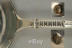 Louche Ancienne Argent Massif Minerve Antique Solid Silver Ladle 300gr