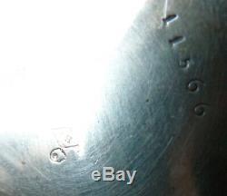 Montre à gousset or et argent massif 19e siècle silver pocket watch 1822