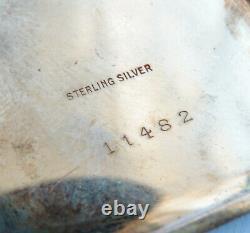 Montre de poche ART DECO vers 1925 argent massif Sterling silver watch