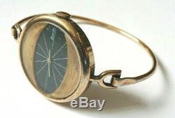 Montre femme SAMY LAY en vermeil ARGENT massif vers 1970 silver watch