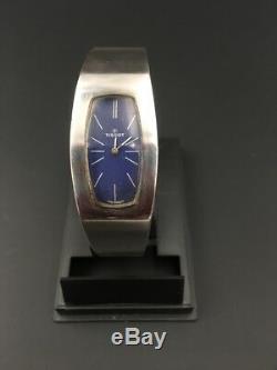 Montre mécanique femme TISSOT argent massif / Vintage silver mechanical watch