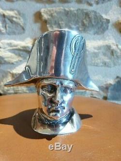 NAPOLEON 1ER boite en argent 800 Hanau 19e silver Gerbruder Dingeldein