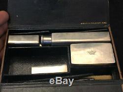 Nécessaire de Marquis Argent Massif Estampé de sa Couronne Keller Antique Silver