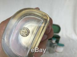 Nécessaire de toilette de voyage argent massif (english silver)