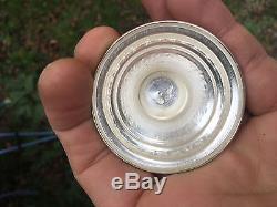 Ottoman Moyen Orient Vase Antique Silverware Argent MASSIF Silver