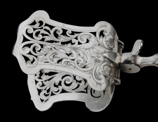 Pelle A Asperge Systeme Argent Massif Louis Xv Sterling Silver Asparagus Server
