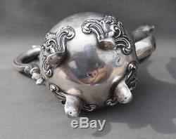 PETITE THEIERE VERSEUSE ARGENT MASSIF MINERVE (french silver pot) CAFETIERE