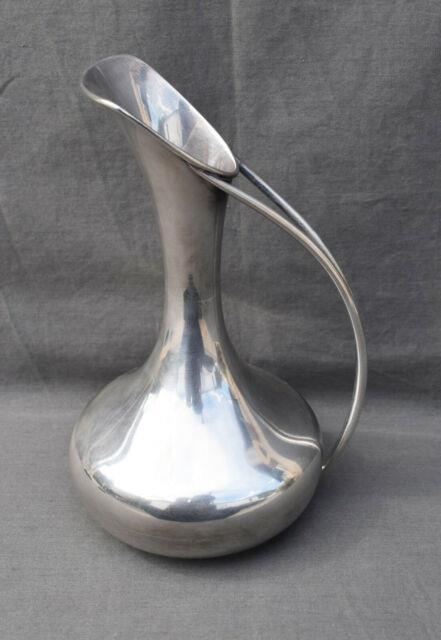 Pichet Aiguiere En Argent Massif 800 Moderniste Silver Pot