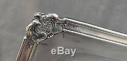 PLATEAU SERVICE ARGENT MASSIF (silver tea tray) DECOR ROCAILLE STYLE LOUIS XV
