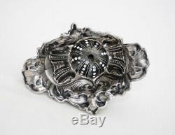 PORTE CURE DENTS EN ARGENT MASSIF XIXè NAPOLEON III ROMANTIQUE Sterling Silver