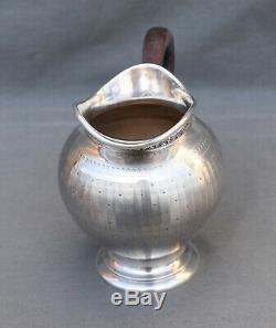 POT A LAIT EN ARGENT MASSIF MINERVE STYLE EMPIRE silver milk pot
