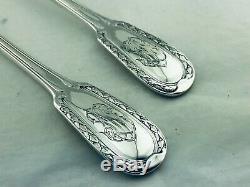 PUIFORCAT Grands Couverts de service serving pieces Sterling silver Minerve TOP