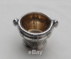 PUIFORCAT SUCRIER ARGENT MASSIF VERMEIL LOUIS XVI Sterling Silver Sugar Bowl
