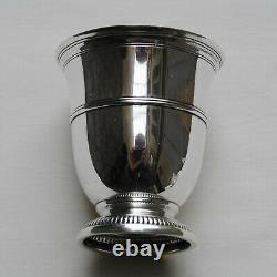 PUIFORCAT TIMBALE TULIPE EN ARGENT MASSIF Sterling Silver Water / Wine Cup