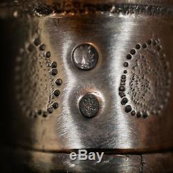 Paire de Flambeaux Paris 1809 Bougeoirs Argent Massif Solid silver candlesticks
