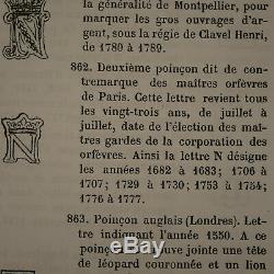 Paire de salerons PARIS 1776 Argent Massif Silver SaliereSilber Salt cellars Sal