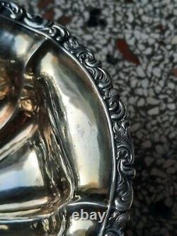 Panier en Argent Massif Russe 1841 Silver Silber Intérieur Vermeil