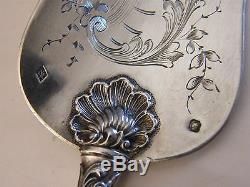 Pelle à poisson en Argent Massif Louis XV Silver Silber