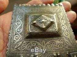 Pendentif Argent Poinçon Ancien Maroc Collier Antique Silver Moroccan Pendant
