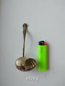 Petite cuillère argent massif 800 18ème 1789 antique solid silver spoon 18th