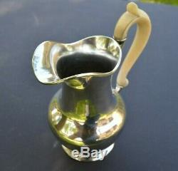 Pichet en argent massif (broc austro hongrois sterling silver jug)