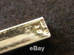 Porte Aiguilles en Argent Massif Vermeil Needle Case Silver Silber 1809 1819