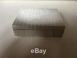 Poudrier en Argent Massif/ Solid Silver Powder Compact