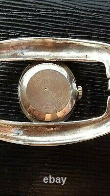 Rare MORABITO argent 900° silver couture vintage mecanic NR