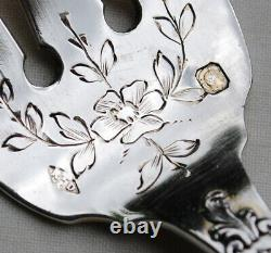 SERVICE A HORS D'OEUVRES ARGENT MASSIF LOUIS XV Sterling Silver Hors d'Oeuvres