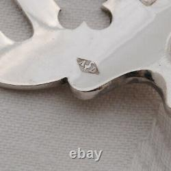 SERVICE A HORS D'OEUVRES EN ARGENT MASSIF Sterling Silver Hors d'Oeuvres Set