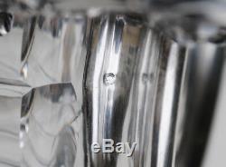 SUCRIER EN ARGENT MASSIF ET CRISTAL NAPOLEON III Sterling Silver Sugar Bowl