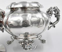 SUCRIER EN ARGENT MASSIF MINERVE ORF DEBAIN silver sugar bowl