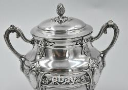 SUCRIER EN ARGENT MASSIF MINERVE STYLE LOUIS XVI silver sugar bowl