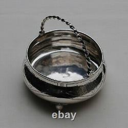 SUCRIER EN ARGENT MASSIF RUSSE MOSCOU 1872 Sterling Silver Sugar Bowl