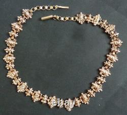 Sautoir collier argent massif ordre fleur de lys royaliste silver necklace chain
