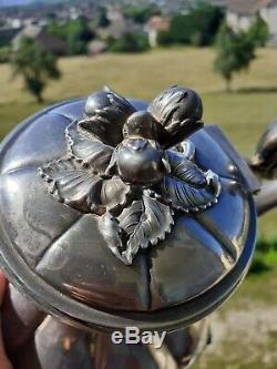Service En Argent Massif XIX ème siècle Alphonse Debain Antique Silver