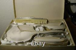 Set de toiletterie en argent massif milieu du 20ème siècle Sterling silver