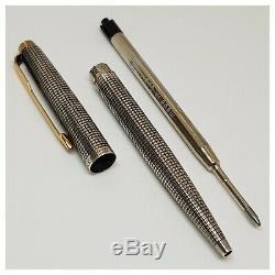 Stylo PARKER STERLING SILVER argent massif- Sterling Silver- ballpoint-pen