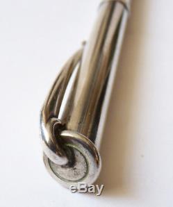 Stylo bille HERMES Paris ARGENT massif 925 silver pen Hemès