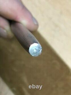 Stylo plume waterman en argent massif Barleycorn sterling silver fountain pen