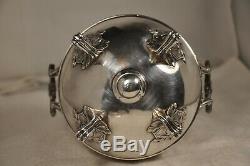 Sucrier Ancien Argent Massif Antique Solid Silver Sugar Bowl Mo Boivin 422gr