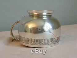TASSE et SOUS TASSE en ARGENT MASSIF 168 gr. XIXe Antique sterling silver cup