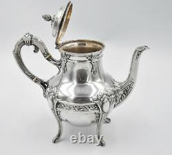 THEIERE VERSEUSE ARGENT MASSIF MINERVE STYLE LOUIS XVI french silver teapot