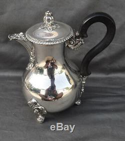 THEIERE VERSEUSE EN ARGENT MASSIF MINERVE (french silver pot) ST LOUIS XV