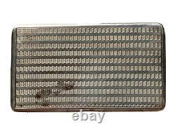 Tabatière Boîte à Priser Argent Massif Minerve XIX ème Antique Silver Snuff Box